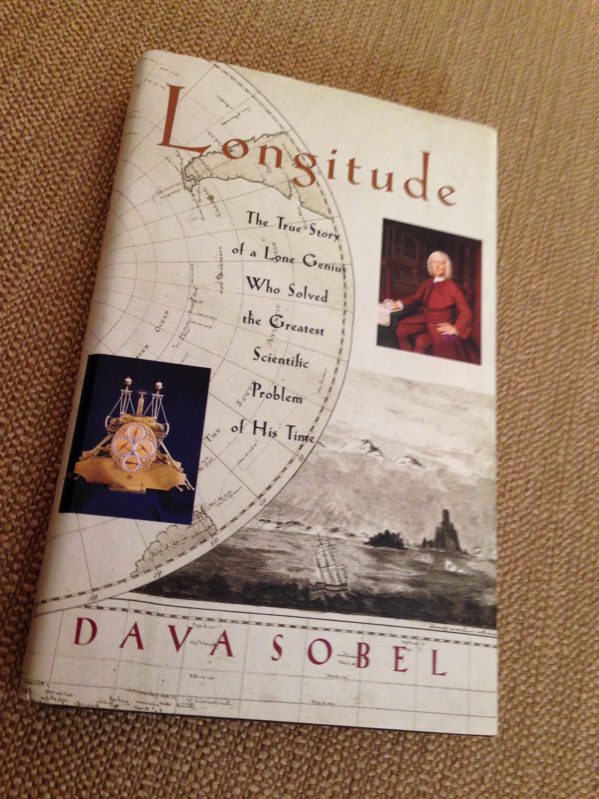 longitude dava sobel Buy longitude: the true story of a lone genius who solved the greatest scientific problem of his time 10th anniversary ed by dava sobel (isbn: 8601410024017) from amazon's book store.